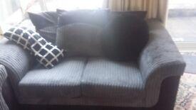 Two 2 seater sofas