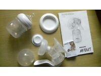 Phillips Avent Manual Breast Pump & Bottle
