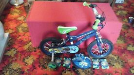 BEN 10 ALIEN FORCE BICYCLE