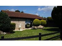 3 Bedroom Bungalow plot 1/3 acre situated in a small village.