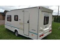 2006 Bailey Discovery 100 4 berth lightweight touring caravan