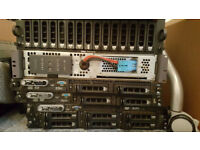DELL (2)1950, 2950 and MD3000 Storage Array