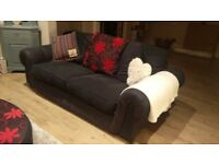 Large 3 + 2 seater sofas
