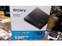 SONY BLU-RAY DISC/DVD PLAYER BOXED
