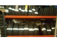 MOTORBIKE TYRES ALL SIZES MAKES AND MODELS UP TO 50% OFF OPEN 7 DAYS