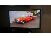 As new Samsung 46inch LED smart TV