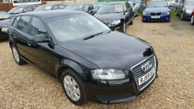 2010(59) Audi A3 2.0 TDI Diesel Sportback 5DR (170bhp) ,Hpi Clear,06 Speed,02,Auto Climate,Long Mot.