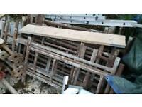 Steel scaffold