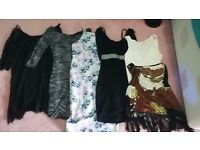 Women's dresses, top and bodysuit sizes 8 Topshop Boohoo Urban Outfitters