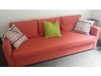 Ikea 3 Seat Sofa Bed.