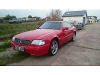 MERCEDES SL 300 24 VALVE, AUTOMATIC, SPORTS CONVERTIBLE, SERVICE HISTORY, EXCELLENT BODYWORK,MOT'D