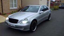 Mercedes c320 avangarde top speck £1195