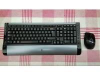 Logitech wireless keyboard and mouse set