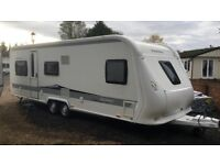 hobby caravan 650 prestige (2012) premium interior. like tabbert/fendt