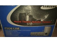 PSDB120E Samsung 5.1 home cinema speaker system - new in box