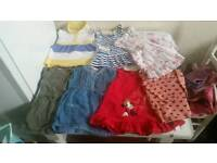 Baby girl clothes over 50 items bundle