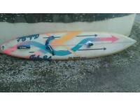 Da'kine custom slalom windsurf board