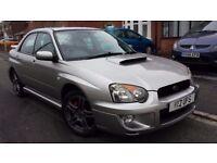 2005 SUBARU IMPREZA WRX 2.0 TURBO AWD 4x4, 225 BHP, FSH, FULL MOT, HPI CLEAR, FINE DRIVE, NICE £3000