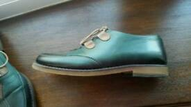 Genuine Leather Italian shoes size 3.5