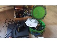 ps3, 2 conrollers with skylanders & disney infinity bases with characters plus 20 more games