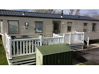8 berth Holiday caravans with Decking or Picnic table at the 5 STAR Waterside Park & SPA in Weymouth