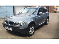 BMW X3 2.5I SE AUTOMATIC 2004 PRIVATE PLATE 1 YRS MOT IMMACULATE CONDITION