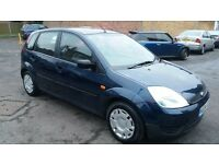 1.4FORD FIESTA 2004 YEAR 5 DOOR 98000 MILE SERVICE HISTORY MOT 8/1/18 HPI CLEAR 3 MONTHS WARRANTY