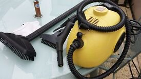 Steam Cleaner - Steam Buggy - with accessories and attachments - household cleaner