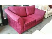 Marks and spencers velour fabric sofa bed
