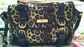 River island satchel bag as new