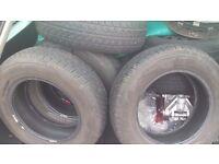tyres 165 70 13 x4 new