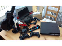 PS3 Console Boxed with 62 games and accessories.