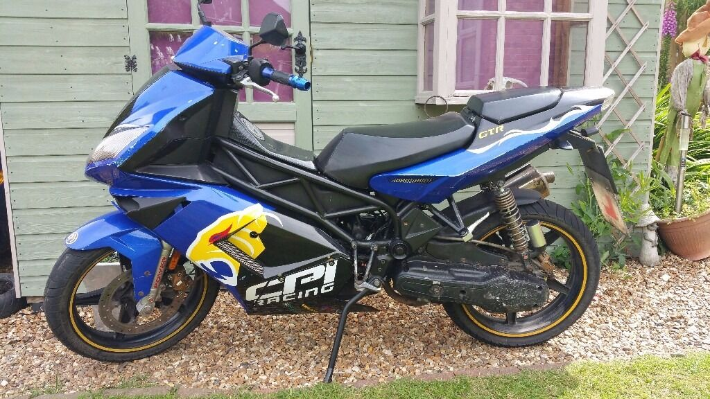 cpi gtr 49cc moped motorcycle mot 39 d till 28 04 18 in jarrow tyne and wear gumtree. Black Bedroom Furniture Sets. Home Design Ideas