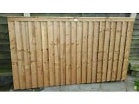 Brand new fence panel 4ft x 7ft 1.5in