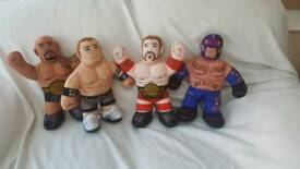 WWE wrestling buddies x4