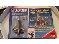 Air Combat Collection magazines - Precision Die-cast model with each issue Can buy single or all.