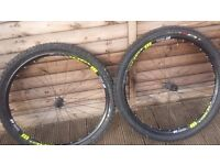 DT SWISS wheels and tyres. 27.5