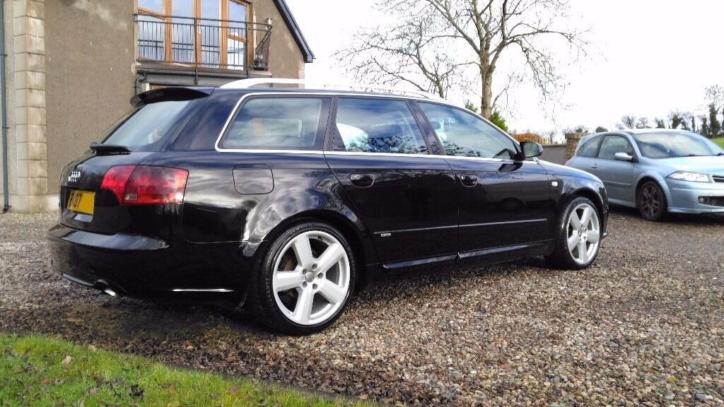 2007 audi a4 avant s line 170 2 0 tdi fsh top spec hpi. Black Bedroom Furniture Sets. Home Design Ideas