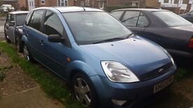 FOR SALE Ford Fiesta Zetec 1.4, £445 ONO