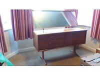 'Austin Suite' Dressing Table and Mirror
