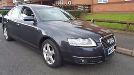 Audi A6 Quattro, Diesel, only 64k Miles. FA/S/H. Sat Nav, Leather seats. Immaculate condition.