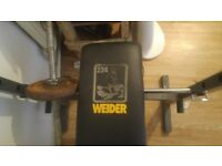 Weigjt bench for sale with bar, no weights