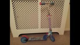 Kids Frozen Elsa scooter
