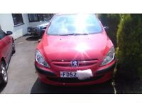 PEUGEOT 307 Red