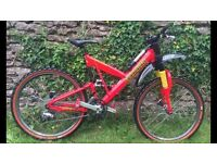 Cannondale series v freeride 1000 downhill mountain bike