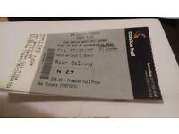 A ticket ROBERT PLANT koncert in Bristol November 17