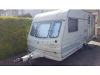 Avondale Leda Quantock 2 Berth Caravan 1997 + AWNING - **DELIVERY AVAILABLE**