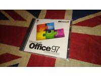 Genuine Microsoft Office 97 Professional Edition Upgrade CD