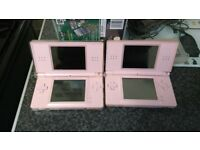 2 nintendo ds with 16 games