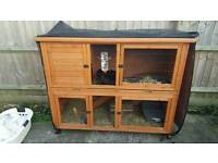 Two tier rabbit cage for sale